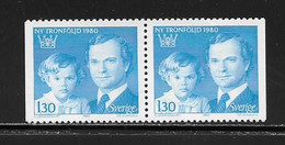 SUEDE ( EUSU - 969 )  1980  N° YVERT ET TELLIER  N° 1083b   N** - Nuovi