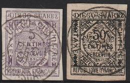 DIEGO SUAREZ  TAXE N° 1 TTB - Used Stamps