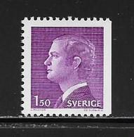 SUEDE ( EUSU - 976 )  1980  N° YVERT ET TELLIER  N° 1095a   N** - Nuovi