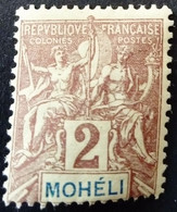 Moheli 1906 Yvert 2 * MH - Neufs