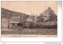 REF16.336 GARD.   SAINT-AMBROIX. FILATURE ET MINOTERIE DE LA BIQUIERE - Saint-Ambroix