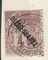 Diego Suarez - N ° 15 Oblitéré Superbe Oblitération - Used Stamps