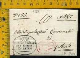 Piego Con Testo Lecco Per Galbiate - 1. ...-1850 Prephilately