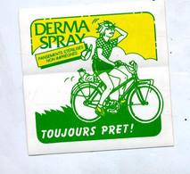 Autocollant Pansement Derma Spray Theme Velo - Stickers