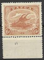 Papua Mint Very Low Hinge Trace * 6 Euros + - Papua New Guinea