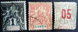 Gabon 1904 1912 Yvert 16 * MH 20 68 O Used - Oblitérés