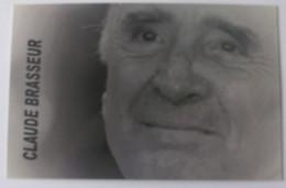 Claude BRASSEUR - Signé / Dédicace Authentique / Autographe - Artisti