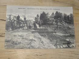 Construction D'une Batterie Par Le 119e D'infanterie ................ 201101-1918 - Sin Clasificación