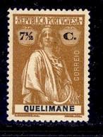 ! ! Quelimane - 1914 Ceres 7 1/2 C - Af. 32a - MH - Quelimane