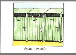 CPM - Humour - Drôles De Vaches - Humor