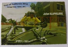 Julian ALAPHILIPPE - Signé / Dédicace Authentique / Autographe - Ciclismo