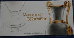 FRANCE 2018 Blocs Souvenir  ART CERAMISTE N° YT BS 146 SOUS BLISTER Cote 12e - Souvenir Blokken