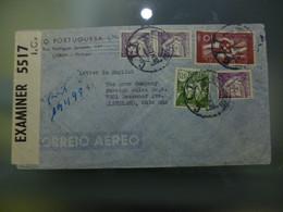 CORREIO AÉREO - WWII - CENSURAS - Briefe U. Dokumente