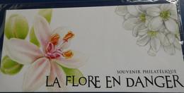 FRANCE 2019 Blocs Souvenir LA FLORE EN DANGER N° YT BS 155 SOUS BLISTER Cote 8e - Souvenir Blokken