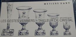 FRANCE 2019 Blocs Souvenir TAILLEUR DE CRISTAL N° YT BS 152 SOUS BLISTER Cote 10e - Foglietti Commemorativi