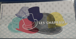 FRANCE 2019 Blocs Souvenir LES CHAPEAUX N° YT BS 147-147A SOUS BLISTER Cote 18e - Foglietti Commemorativi