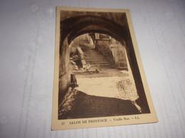 CPA  BOUCHES DU RHONE  SALON DE PROVENCE  VEILLE RUE - Salon De Provence