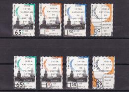 Nederland/Netherlands/Pays Bas/Niederlande Cour De Justice D50; D54: D55; D57 1990 Used En MNH** - Officials