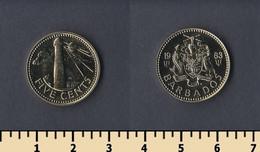 Barbados 5 Cents 1983 - Barbados