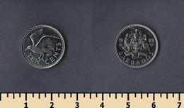 Barbados 10 Cents 1983 - Barbados