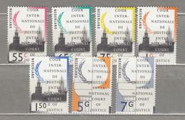 NETHERLANDS 1989-1990 Officials Mi 44-50 MNH(**)  #20677 - Dienstpost