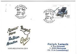 Luxembourg 2014 De Dion Bouton Voiture ¦ Car ¦ PKW Auto - Cartas