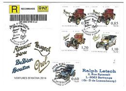 Luxembourg 2014 De Dion Bouton Peugeot Opel Renault Voiture ¦ Car ¦ PKW Auto - Briefe U. Dokumente
