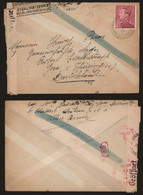 Belgique WWII 1942 - TP 429 Seul Sur Lettre Bruxelles Vers Gera Allemagne - Censure - 1936-1951 Poortman