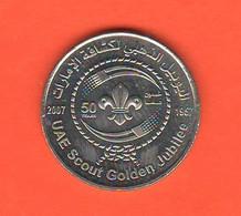 Arabia Saudita 1 One Dirham 2007 Giubilee Scouts UAE Arab Emirates - Saudi Arabia