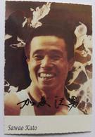 Gym - Sawao KATO - Dédicace - Hand Signed - Autographe Authentique  - - Ginnastica