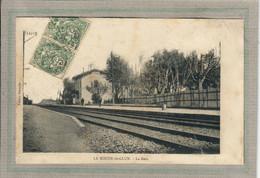 CPA - (26) La ROCHE-de-GLUN - Aspect De La Gare En 1909 - Other Municipalities