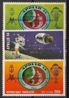 Togo - 1971 - Poste Aérienne PA N°Yv. 161 à 163 - Apollo XIV / Cosmonautes Russes - Neuf Luxe ** / MNH / Postfrisch - Togo (1960-...)