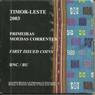Serie Anual 2003 Timor Leste BNC - Timor