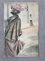 Illustrateur Henri Boutet. Serie Le Bain Nº1. Art Nouveau, Jugendstil. - Boutet