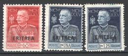 Eritrea 1925 Sass.S.21 **/MNH VF/F - Eritrea