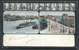 LUDWIGSHAFEN - Blick Von Mannheim - Partie Mit Dem Viaduct - Ludwigshafen