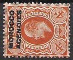 Morocco Agencies Mh * 12 Euros 1912 - Morocco Agencies / Tangier (...-1958)
