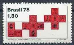 1978 BRESIL 1349** Croix-rouge - Ungebraucht