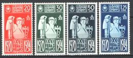 Colonie Em.Generali 1934 Sass.42/45 **/MNH VF/F - Algemene Uitgaven