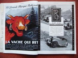 L'Illustration Noël 1929 Estampes Japonaises Bars Et Cabarets De Paris Par SEM Pub La Vache Qui Rit LU Renault Poids 1,5 - 1900 - 1949