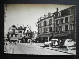 Auray  Hotel Du Pavillon D En Haut Belle Cpsm Citroen  Ds 2 Cv - Auray