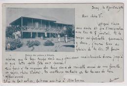 Maison Des Palmes à Rikatla - Gelaufen 1900 Von PENEY LE JORAT Nach LAUSANNE (Nadelstiche) - Mozambique