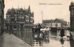 Allemagne97TrèvesPlace De La GareEcrite1924 - Ohne Zuordnung