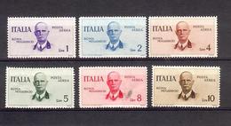 ITALIE REGNO 1934   Mi 514/519  Yv PA 78/83  Sass A83/88 * MH - Airmail