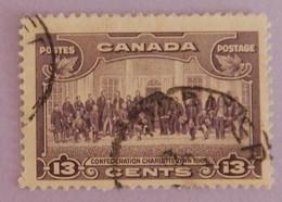"""CANADA YT 186 OBLITÉRÉ """"CHARLOTTETOWN"""" ANNÉE 1935 - Oblitérés"""