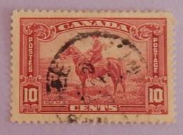 """CANADA YT 185 OBLITÉRÉ """"POLICIER A CHEVAL"""" ANNÉE 1935 - Oblitérés"""