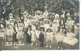 CPA PHOTO SALLIS NARBONNE - BAL D'ENFANTS 1913  ( BON PLAN ) - Narbonne