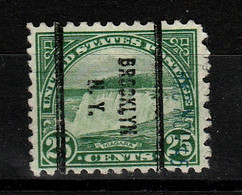 A- USA Precancel Locals BROCKLYN N.Y. Used - Preobliterati