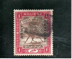 SOUDAN 1905 O - Soudan (...-1951)