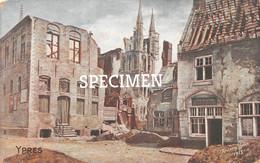 Ruines Antony Ypres 1915 @ Ieper - Ieper